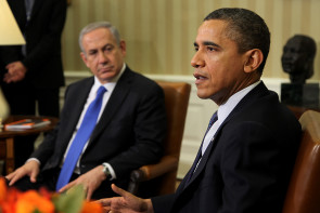President Obama and Israeli PM Netanyahu Oval Office Meeting